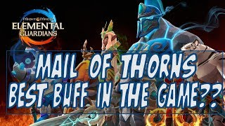 Mail Of Thorns Best Buff In The Game?? -  Might and Magic Elemental Guardians