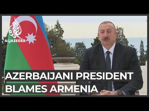 Nagorno-Karabakh Conflict: Azerbaijan President Blames Armenia