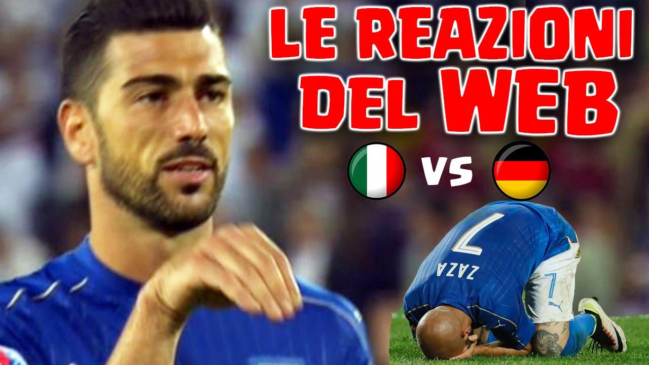 OMG ZAZA & PELLE' - LE REAZIONI DEL WEB a ITALIA-GERMANIA 1-1 (5-6 d c r) -  Euro 2016