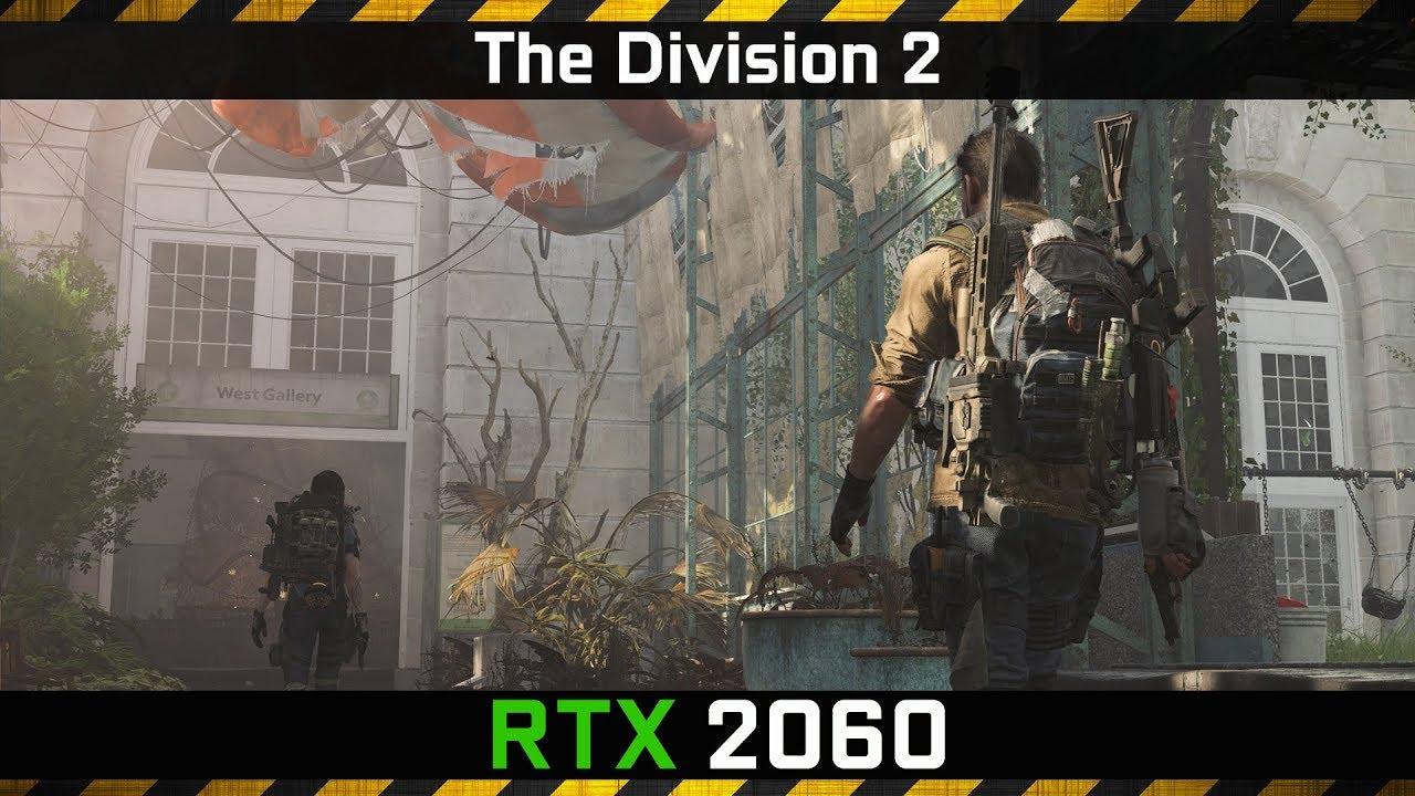 The Division 2 vs RTX 2060 FPS Benchmark Low vs Ultra (Ryzen 5 2600x)