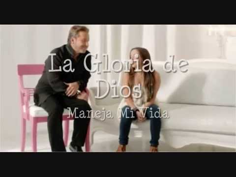 La Gloria De Dios Letra Official Ricardo Montaner Y Evaluna Montaner Youtube