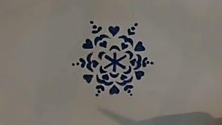 видео трафареты снежинок на новый год для вырезания