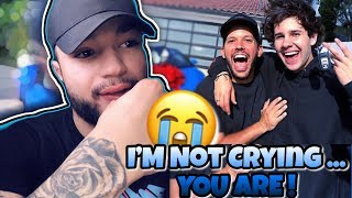 David Dobrik Surprises Best Friend With LAMBORGHINI Reaction ! + iPhone Giveaway *Emotional*