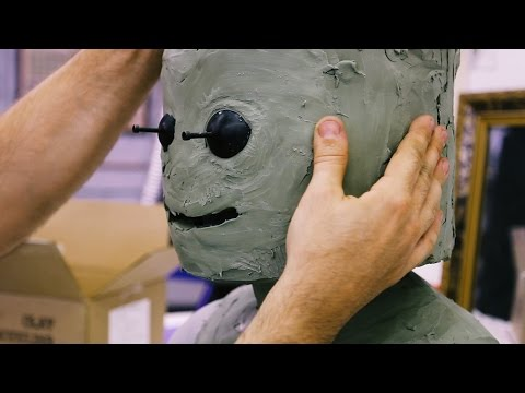 Sculpting a Realistic LEGO Cosplay Mask!