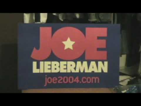 Joe Liberman 2004 election memorbila