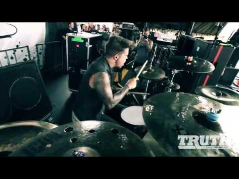 Jake Garland - Memphis May Fire - Warped Tour 2013