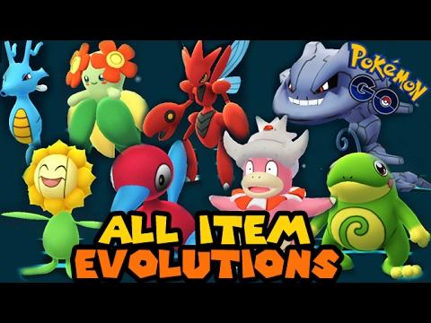 All GEN 2 Evolution Item Evolutions in Pokemon GO!