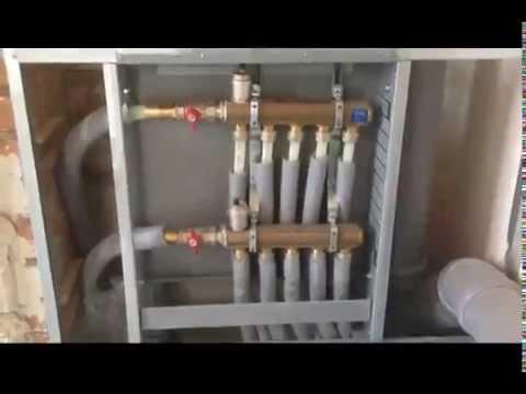Лучевая система отопления МонтажТехСервис