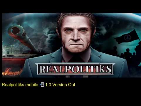 Realpolitiks Mobile- Released on IOS