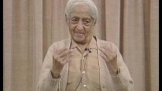 Can one live totally honestly?  J. Krishnamurti