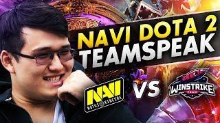 ТИМСПИК NAVI DOTA2 vs Winstrike в Игре за Слот на The International 2019