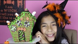 Halloween Cookie House| Halloween Treats