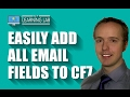 Easily Add All Fields To The Contact Form 7 Email | Contact Form 7 Tutorials Part 3