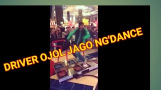 DRIVER OJEK ONLINE JAGO NG'DANCE