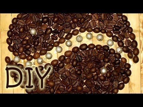 How to draw with coffee beans coffee appliqu decoration for How to draw a coffee bean