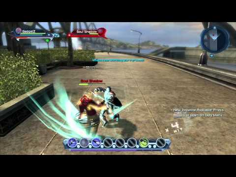 ps3 dc universe online beta game play 06 youtube