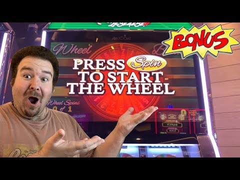 Cherry Riches BONUS WHEEL SPIN AND RETRIGGER - BIG WIN Max Bet 2x3x4x5x Slot Machine Live Play