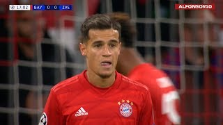 Philippe Coutinho vs RED STAR BELGRADE (H) | 2019 1080i HD