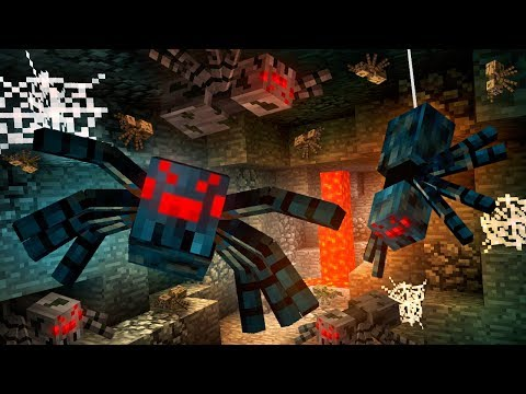 Everything You Need To Know About SPIDERS In Minecraft!