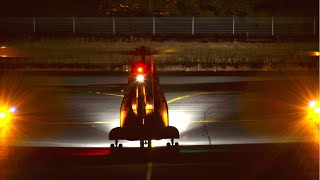 France Army - Aérospatiale SA-330B Puma night action at Albi-Le Séquestre airport [LBI/LFCI]