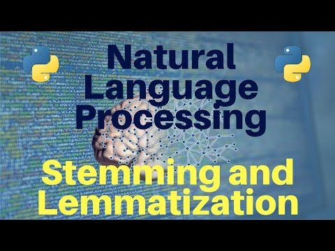 Natural Language Processing in Python: Part 5 -- Stemming