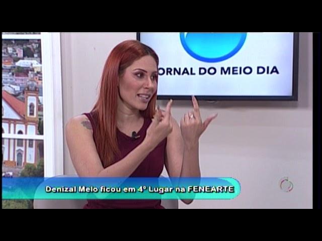 Entrevista com Denizal Melo no Jornal do Meio Dia - 22/07/2019