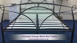 Limelight Omega Metal Bed Frame