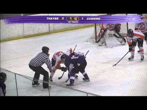 Cushing Academy - Varsity Boys Ice Hockey vs. Thayer Academy