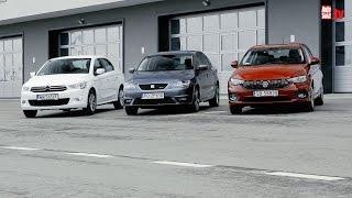Fiat Tipo kontra Seat Toledo i Citroen C-Elysee - który sedan będzie lepszym wyborem
