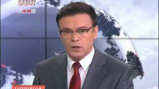 Андрій Сініцин: випуск новин на каналі UBR - 15.04.2016