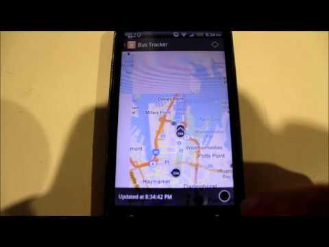 Grofsoft TripView 131500 Sydney Transport Mobile App Live Bus Data Demonstration