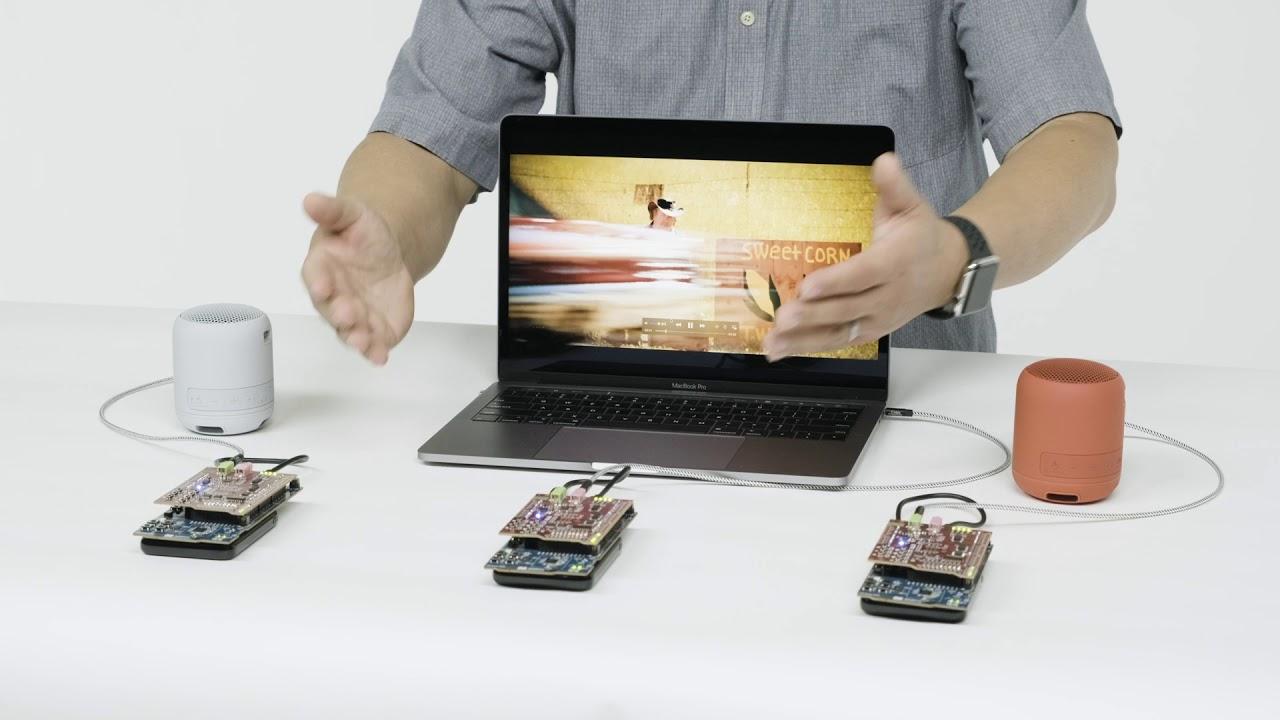 Packetcraft and Ittiam LC3 demo