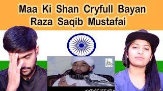 Hindu reaction on Raza Saqib Mustafai Cryfull Bayan | Maa Ki Shan | Swaggy d