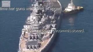 Cover images Tribute to USS Missouri Final Port of Call | Storyteller Media