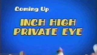 Boomerang Bumper- Coming Up Next - Inch High Private Eye - No Announcer