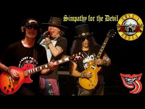 Sympathy for the Devil Guns N´ Roses & RollingBilbao 2017 cover HD
