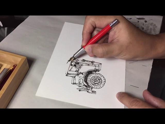 Fountain Pen Test: Jinhao Y1 Fude Nib
