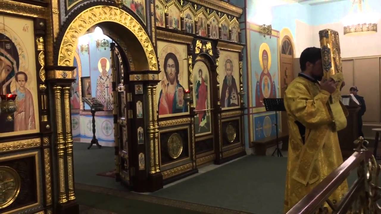 Благодарственный молебен Казанский храм