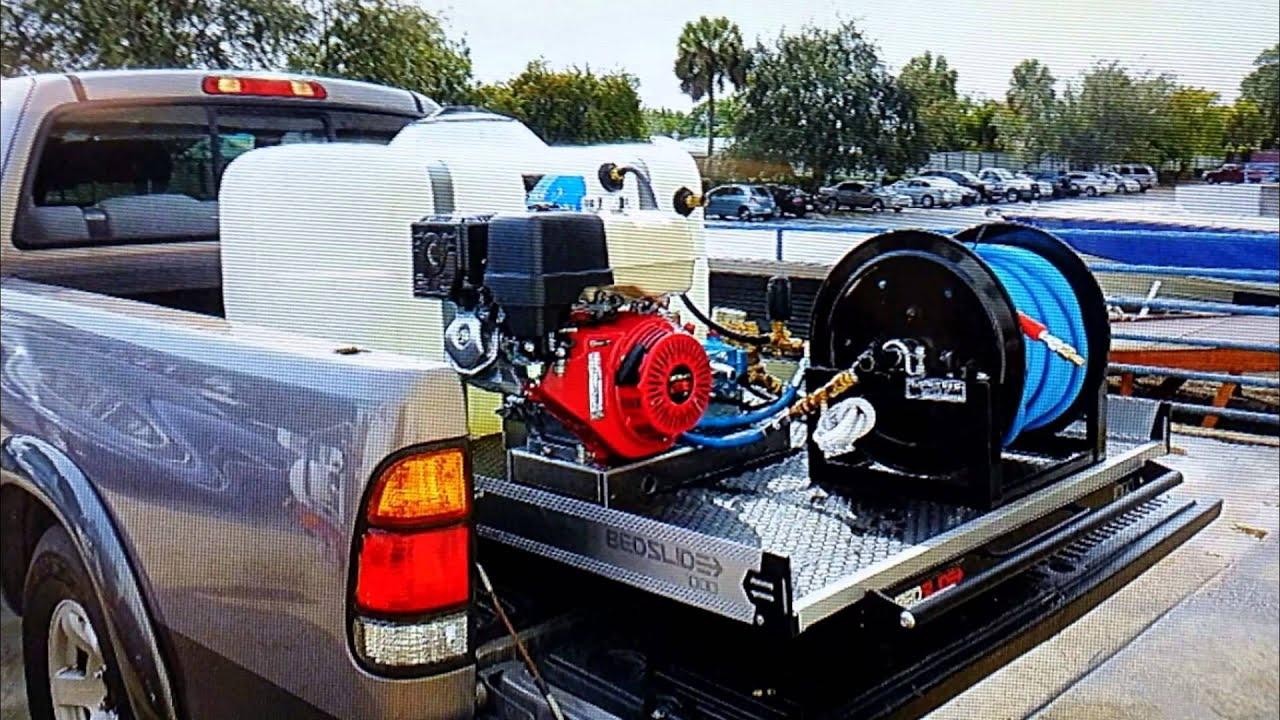 Pressure Washer Trailer And Truck Mount Hydro Tek Dennis 1