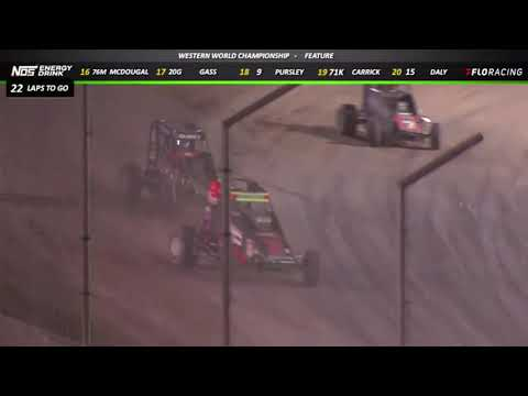 Highlights: Watch Night #2 highlights for the USAC National and Western States Midgets at the Western World. See the full event replay at FloRacing.com. - dirt track racing video image