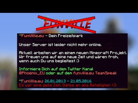 FunVille.eu ist offline!  | #FVABSCHIED | CubeConLP