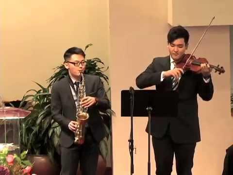 Amazing Grace - Saxophone & Violin Duet