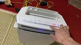 máy lọc không khí và bù ẩm. panasonic f-vxj50. giá 2,8tr lh 0976658815