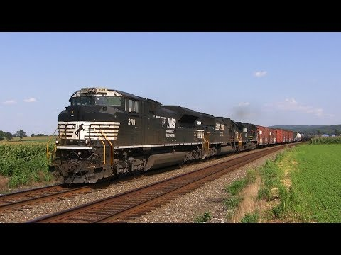 Trains and Farms: The Norfolk Southern Reading Line