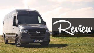 2019 Mercedes-Benz Sprinter Review - the most advanced van in the world? | Music Motors