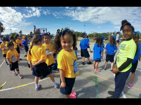 Franklin Academy Pembroke Pines - Kindergarten's field day Jan. 23rd 2018