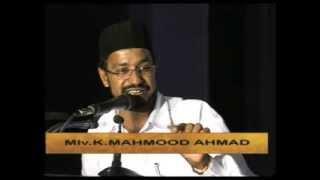Speech by:   Moulavi K.Mahmood Ahmad Sahib