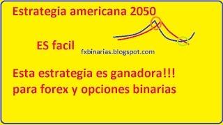 Estrategia Americana 2050 la estrategia GANADORA!