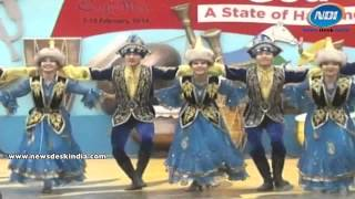 Dance By Kazakistani Artists At Surajkund Crafts Mela 2014