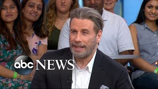 John Travolta opens up about